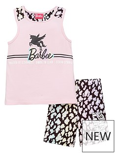 barbie-girls-barbie-2-piece-animal-print-active-vest-and-cycling-short-set-pink