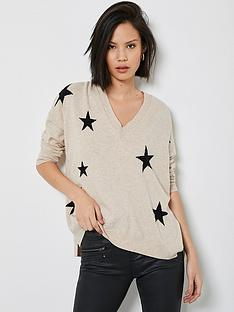 mint-velvet-multi-star-v-neck-boxy