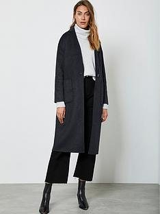 mint-velvet-chuck-on-split-seam-coat-charcoal