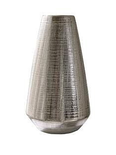 blaire-silver-plated-scratch-detail-vase