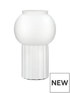 cleo-rib-column-vase