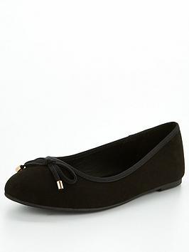 v-by-very-round-toe-ballerina-black