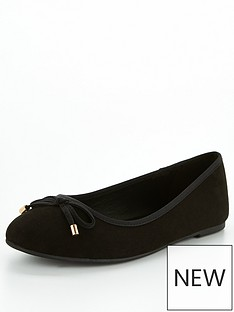 v-by-very-valuenbsplucky-wide-fit-round-toe-ballerina-black