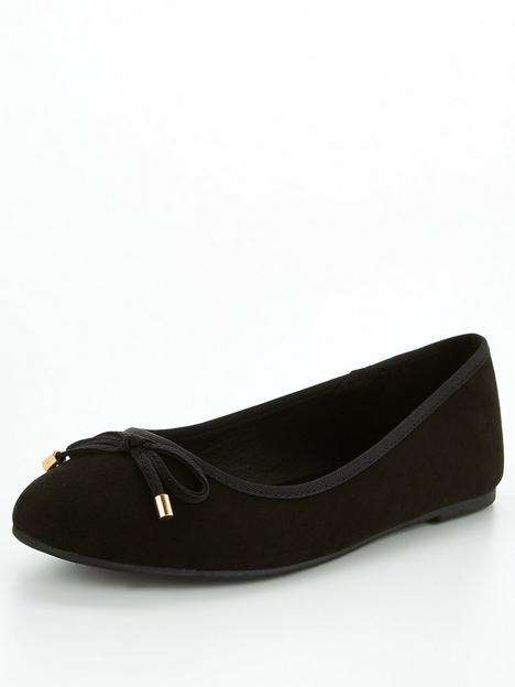 v-by-very-wide-fit-round-toe-ballerina-black