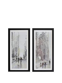 arthouse-set-of-2-street-scene-framed-prints