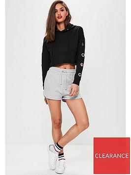 missguided-missguided-tie-waist-runner-shorts-grey