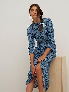 nobodys-child-selena-midi-dress-blue