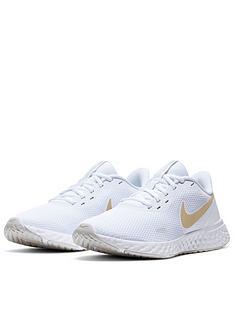nike-revolution-5-trainer-whitegold