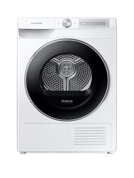 Samsung Series 6 Dv90T6240Lh/S1 With Optimaldry 9Kg Heat Pump Tumble Dryer, A+++ Rated - White