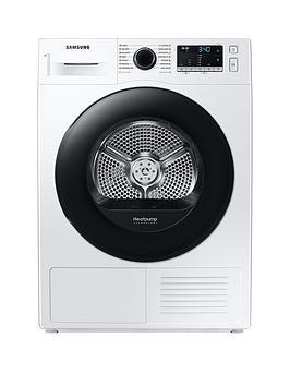 Samsung Series 5 Dv90Ta040Ae/Eu With Optimaldry 9Kg Heat Pump Tumble Dryer, A++ Rated - White