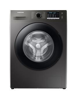 Samsung Series 5 Ww80Ta046Ax/Eu With Ecobubble 8Kg Washing Machine, 1400Rpm, B Rated - Graphite