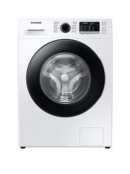 Samsung Series 5 Ww80Ta046Ae/Eu With Ecobubble 8Kg Washing Machine, 1400Rpm, B Rated - White