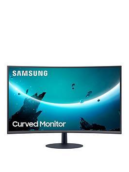 "Samsung C32T550 Full HD 32"" 75Hz Curved Monitor with AMD FreeSync - Black"