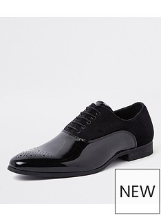 river-island-velvet-lace-up-oxford-brogues-black