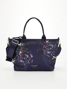 ted-baker-pomegranate-small-nylon-tote-navynbsp
