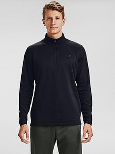under-armour-fleece-12-zip-top-black