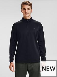 under-armour-fleece-12-zip-top-black