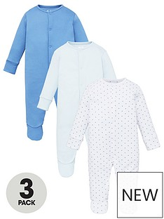 mini-v-by-very-baby-boys-3-pack-essentials-sleepsuits-blue