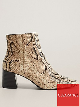 mango-pu-snake-print-ankle-boot-brown