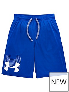 under-armour-childrensnbspprototype-logo-shorts-blue