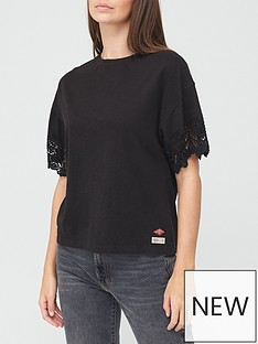 superdry-crafted-folk-lace-t-shirt-black