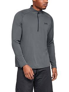 under-armour-tech-20-12-zip-top-grey