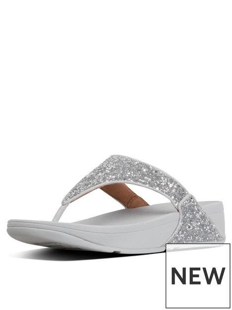 fitflop-lulu-glitter-toe-thong-flip-flop--nbspsilver