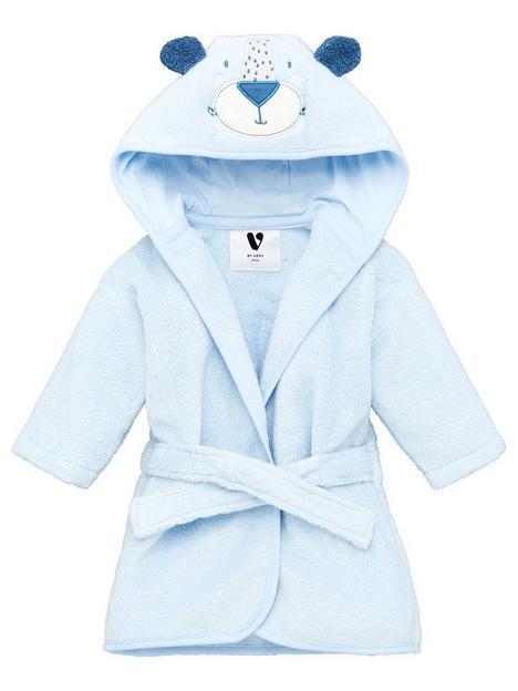 mini-v-by-very-baby-giftingnbspboys-towellingnbspbear-robe-blue