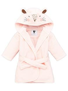 mini-v-by-very-baby-girls-towellingnbsprabbit-robe-pink
