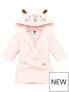 mini-v-by-very-baby-girls-towellingnbsprabbit-robe-pink