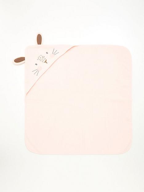 mini-v-by-very-baby-giftingnbspbaby-girls-rabbit-towel-pink
