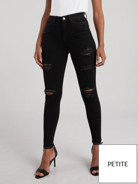 v-by-very-short-ella-high-waist-skinny-jean-black
