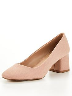 v-by-very-dove-block-heel-court-shoes-blush