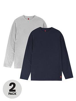 us-polo-assn-us-polo-assn-2-pack-long-sleeve-lounge-t-shirt