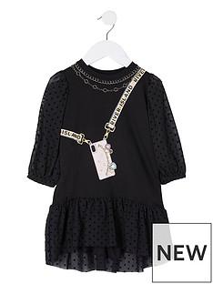 river-island-mini-mini-girls-spot-mesh-dress--nbspblack