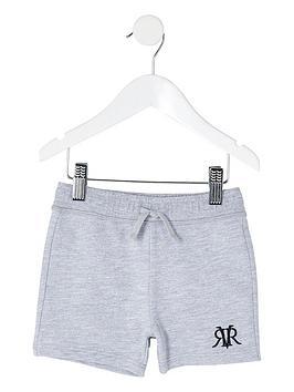 river-island-mini-mini-boys-rvr-jersey-jog-shorts--nbspgrey