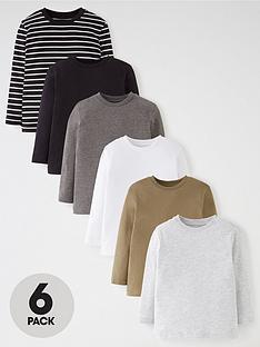 mini-v-by-very-boys-6-pack-core-long-sleeve-tops-multi