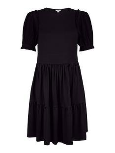 monsoon-woven-sleeve-tired-hem-sew-smock-dress-blacknbsp