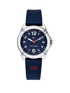 tommy-hilfiger-blue-dial-blue-silicone-strap-childrensnbspwatch