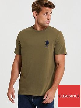 us-polo-assn-us-polo-assn-large-dhm-t-shirt-green