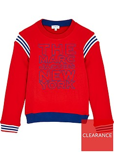 the-marc-jacob-boys-colourblock-crew-sweatshirt-red
