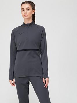 nike-womens-academy-21-dry-drill-top-grey