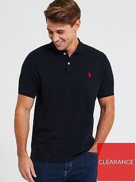 us-polo-assn-us-polo-assn-core-pique-polo-shirt-regular-fit-black