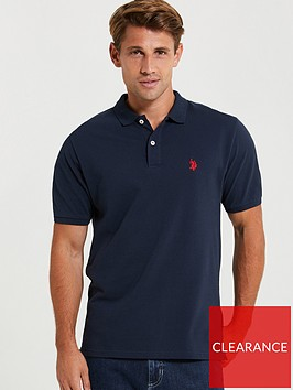us-polo-assn-us-polo-assn-core-pique-polo-shirt-regu-navy