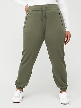 v-by-very-curve-zip-pocket-jogger-khaki