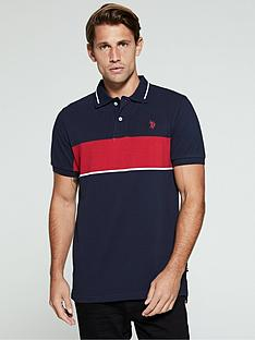 us-polo-assn-banded-tipped-polo-shirt-regular-fit-navy