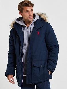us-polo-assn-lifestyle-parka-navy