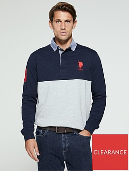 us-polo-assn-quilted-rugby-polo-shirt-navy