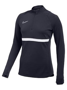 nike-womens-academy-21-dry-drill-top-navywhite