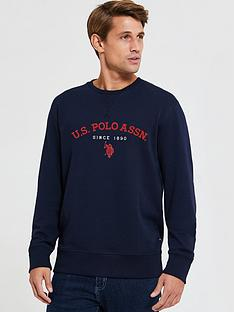 us-polo-assn-us-polo-assn-dh-applique-crew-sweatshirt